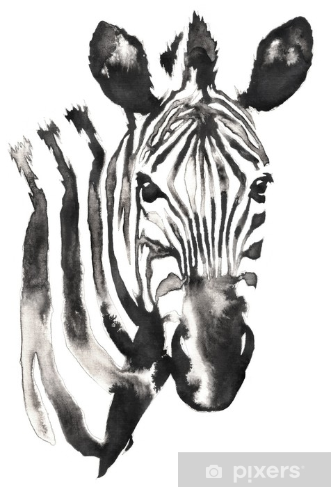 Papier Peint Peinture Monochrome Noir Et Blanc Avec De L Eau Et De L