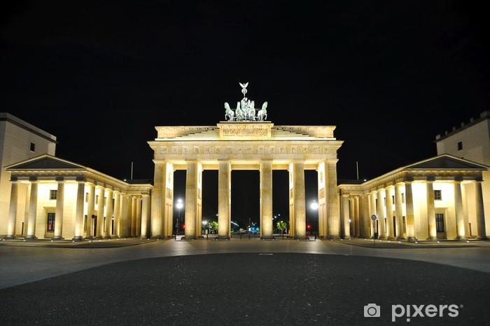 Naklejka Pixerstick Niemcy - Berlin - Brama Brandenburska - Niemcy