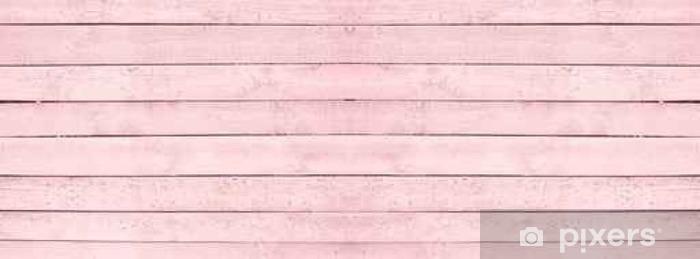 Pixerstick Sticker Naadloze houten textuur roze - Graphic Resources