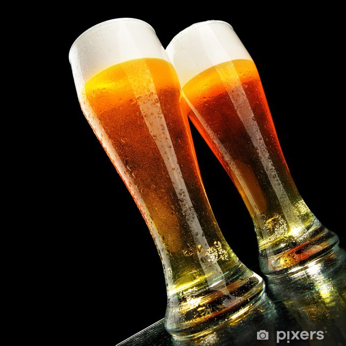 Sticker Pixerstick Bière - Alcool