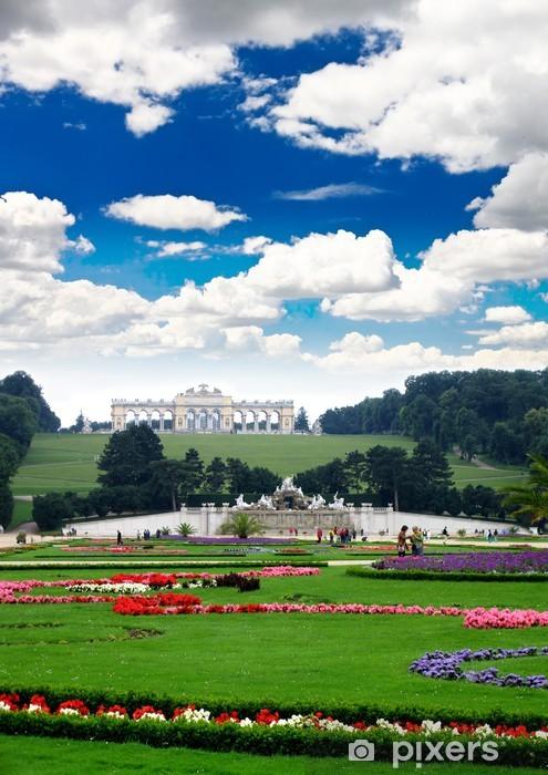 Papier peint vinyle Palais royal et jardin à Vienne - Europe