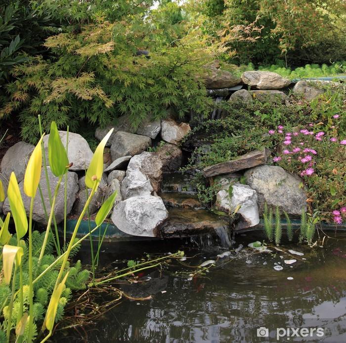 Schrankaufkleber Kleine Quelle Von Wasser Garten