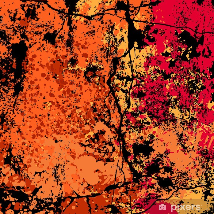 Grunge vector background Vinyl Wall Mural - Themes