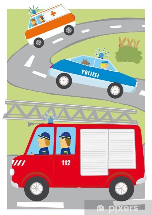 Naklejka Pixerstick Ulica - Transport drogowy