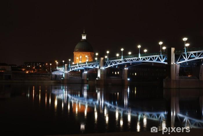 Papier peint vinyle Toulouse et sa Garonne - Vacances