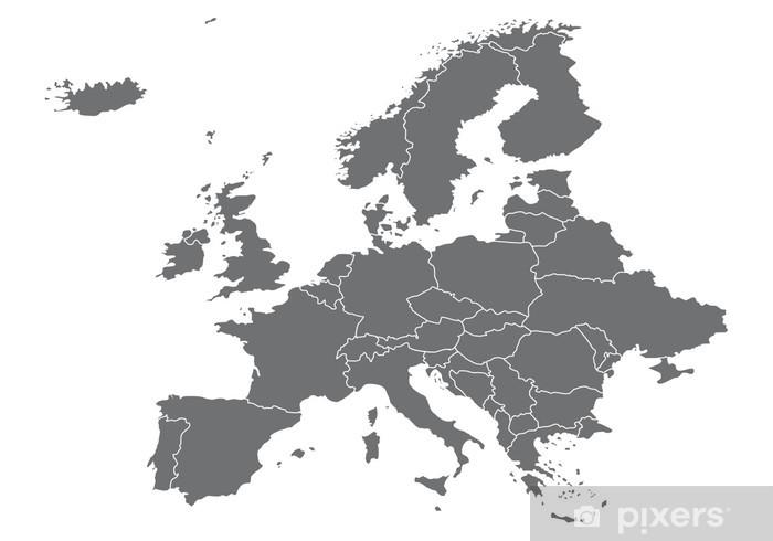 Europa Karte Vektoren Sticker Pixers We Live To Change
