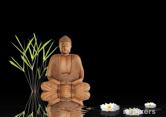 Papier Peint Zen Bouddha Silence Pixers Nous Vivons Pour Changer