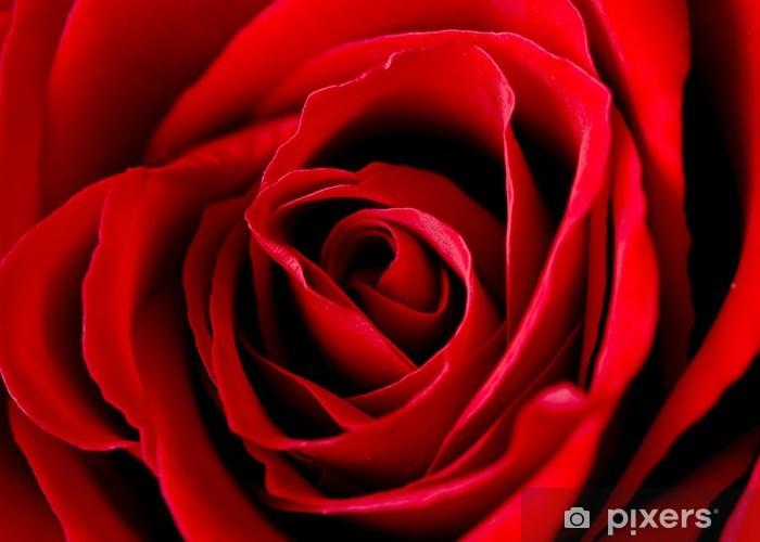 Sticker Pixerstick Rose de l'amour - Thèmes
