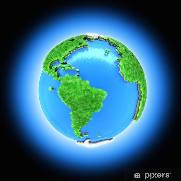 3d Kasite Maapallon Maapallo Symboloi Luontoa Juliste Pixers