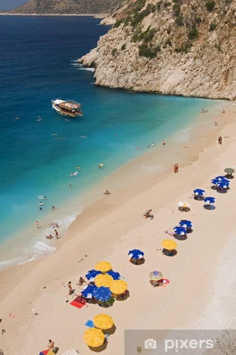 Kaputas Beach Kas Antalya Turkey Pixerstick Sticker - Europe