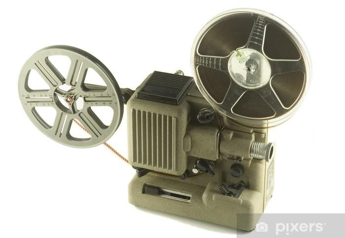 Naklejka Pixerstick Projecteur de Film - Rozrywka