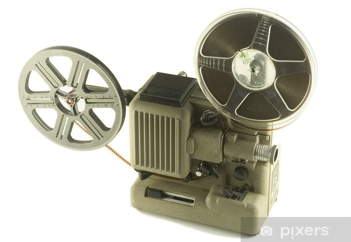 Sticker Pixerstick Projecteur de film - Divertissements