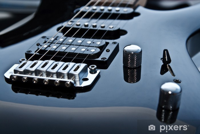 Nálepka Pixerstick Elektrická kytara - Jazz