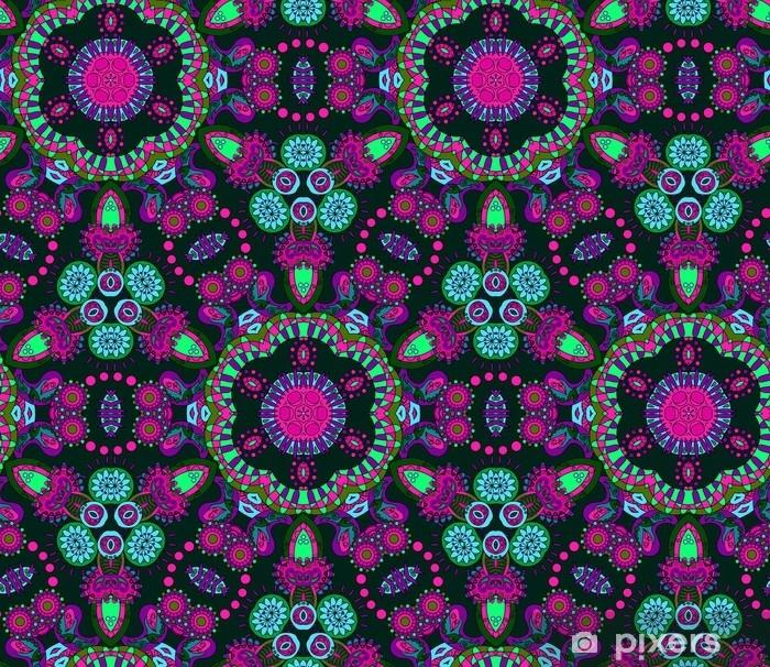Hippie mandala pattern Vinyl Wall Mural - Graphic Resources