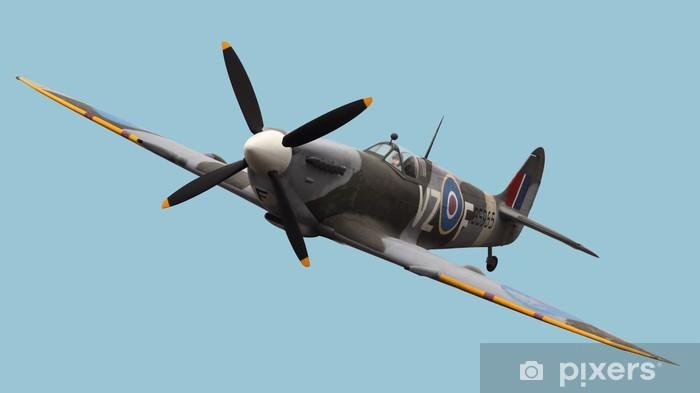 Isolated Spitfire Vinyl Wall Mural - Themes