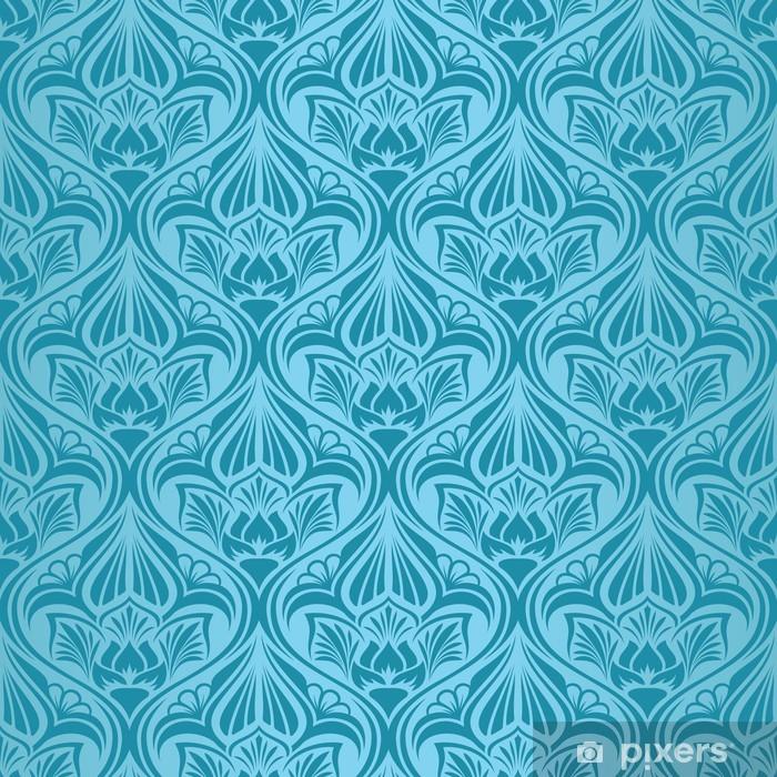 Papier peint vinyle Fond d'écran turquoise transparente - Arrière plans
