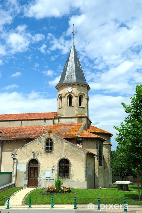 Papier peint vinyle Eglise de Varennes-sur-Morge (63) - Religion
