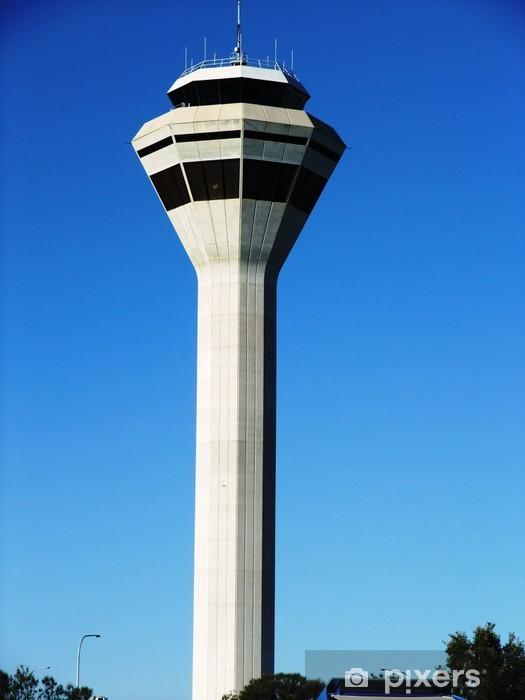 Papier peint vinyle Tour de contrôle de la circulation aérienne à Perth, en Australie. - Vacances