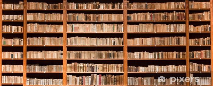 Papier Peint Vieux Livres Dans Une Bibliotheque Ancienne Pixers