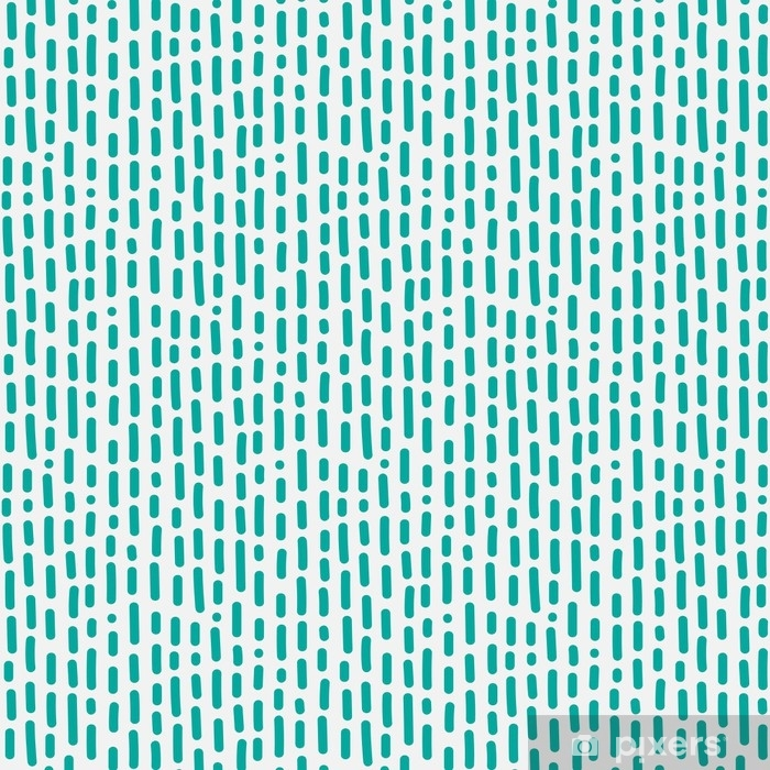Abstract Pattern With Lines Hand Drawn. Washable Wall Mural - Graphic Resources