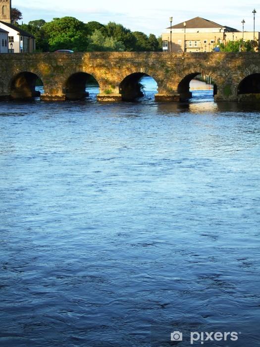 Sticker Pixerstick Pont à Sligo, Irlande - Europe