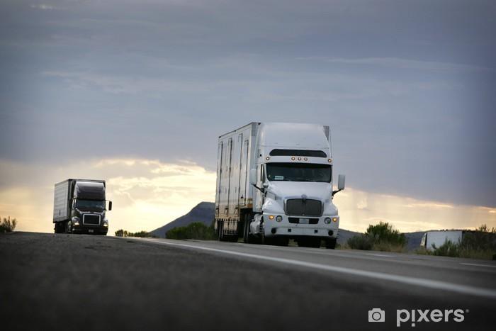 Fototapeta winylowa Ciężarówka - Przemysł ciężki