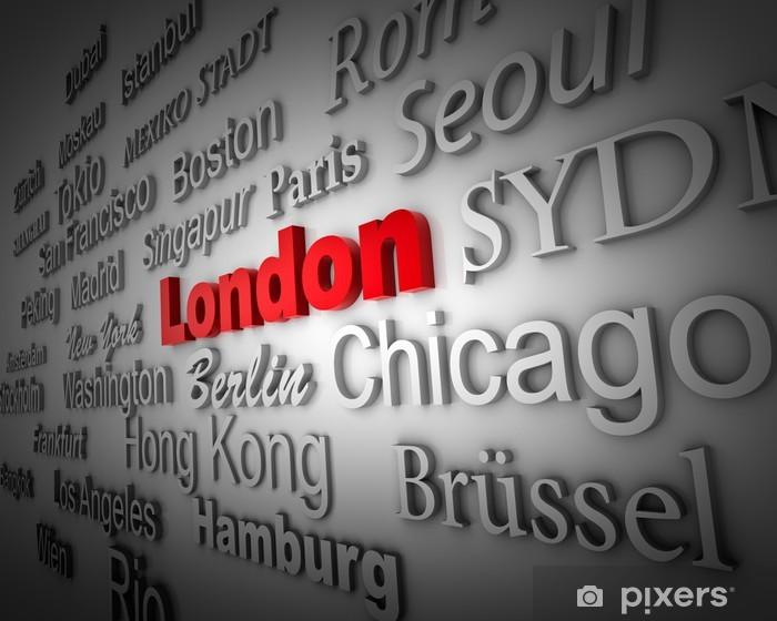 Fototapeta winylowa Weltstadt2 Londyn - Miasta azjatyckie