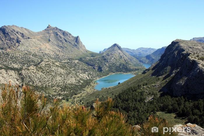 Fototapeta winylowa Cuber i puig największe jezioro, Sierra de Tramuntana, Majorka. - Sporty na świeżym powietrzu