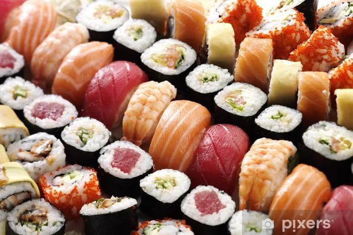 many sushi Sticker - Pixerstick