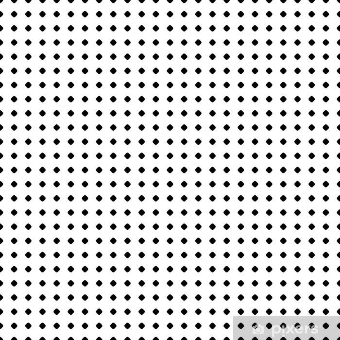 e916672e8f7e0 Vinilo Pixerstick Patrón de lunares. vector de textura sin fisuras. telón  de fondo geométrico abstracto en blanco y negro ...