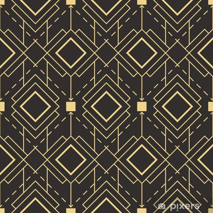 Abstract art deco seamless pattern Vinyl Wall Mural - Graphic Resources
