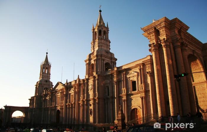 Fotomural Estándar Arequipa ciudad peruana - América