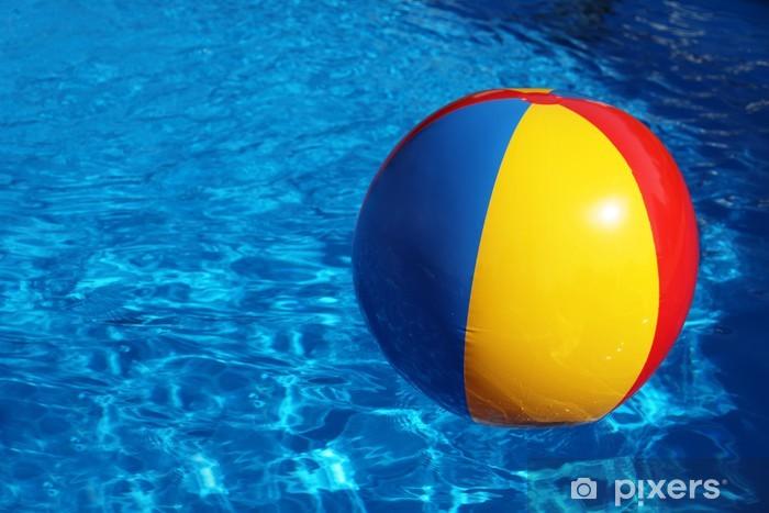 Sticker Pixerstick Wasserball - Vacances
