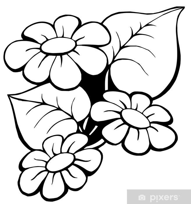 Vinyl-Fototapete Blumenmotiv 1 - Blumen