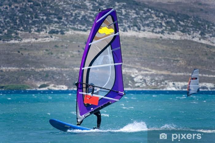 Fototapeta winylowa Windsurfing w Alacati, Cesme, Turcja - Europa