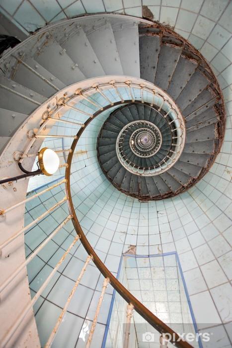 Naklejka Pixerstick Latarnia wysokiej klatki schodowej - Tematy
