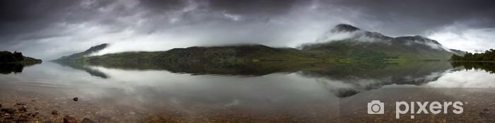 Papier peint vinyle Loch Maree - Eau
