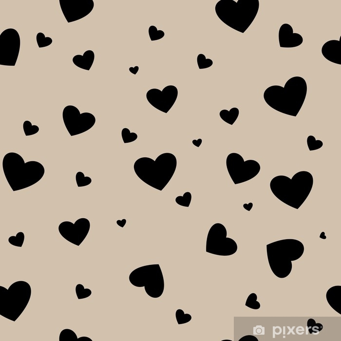 Heart couple seamless pattern Vinyl Wall Mural - Graphic Resources