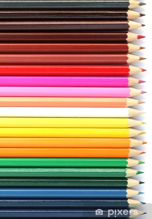 Fototapeta winylowa Kolorowe kredki - Edukacja