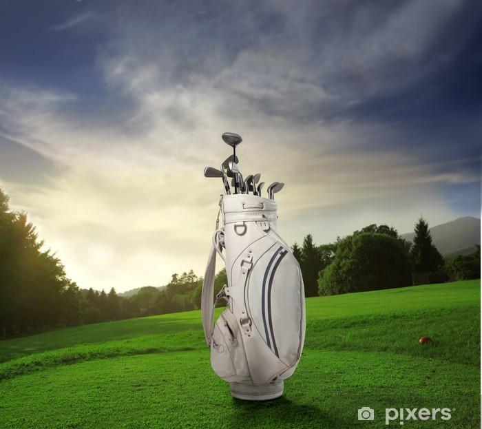 Fototapeta winylowa Golf - Artykuły sportowe