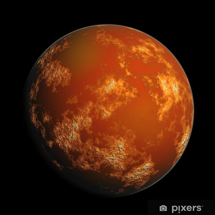 Fototapeta winylowa Planeta Mars - Planety