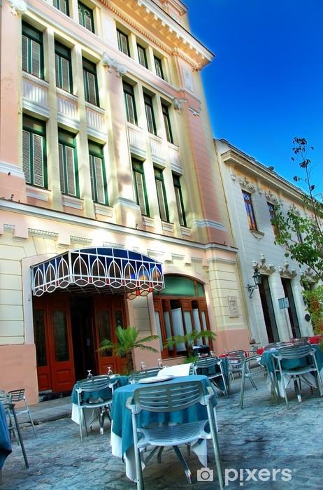 Kaststicker Oud Havana cafe - Amerika