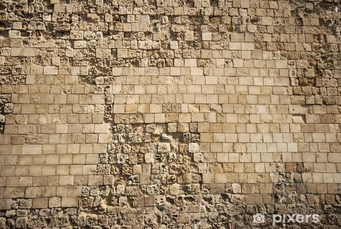 Nálepka Pixerstick Kamenná zeď - Evropa