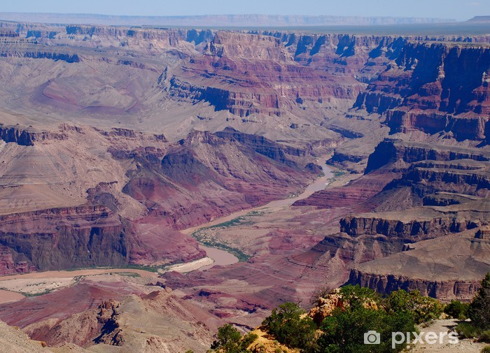 Nálepka Pixerstick Alla jemné del Grand Canyon - Hory