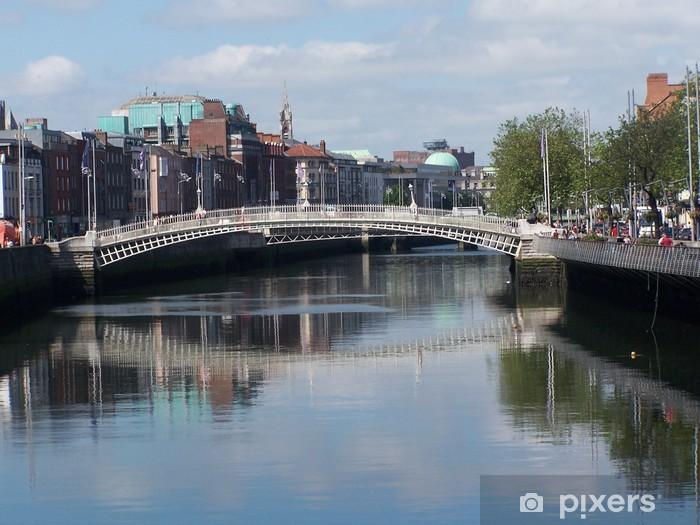 Fotomural Autoadhesivo Bridge en Dublín - Europa