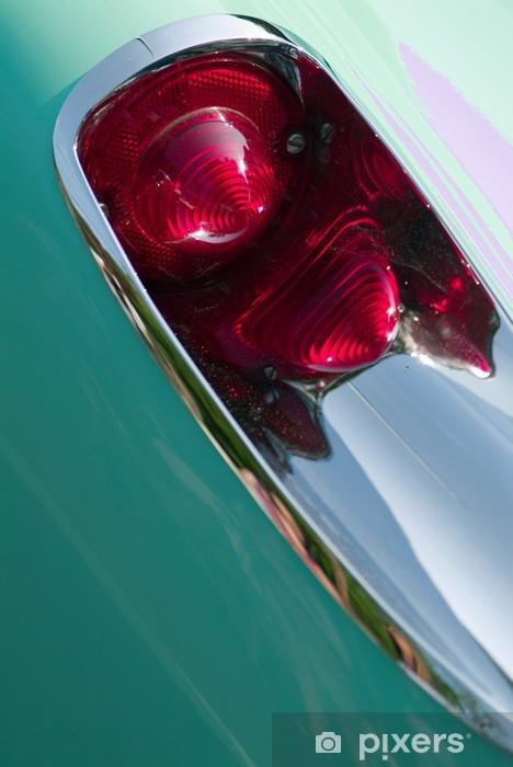 Naklejka Pixerstick Rocznika corvette tail light - Transport drogowy