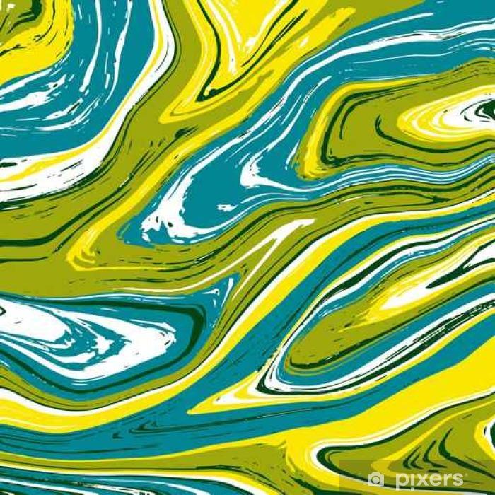 Sticker Pixerstick Illustration vectorielle de la texture du marbre dans diverses couleurs - Ressources graphiques