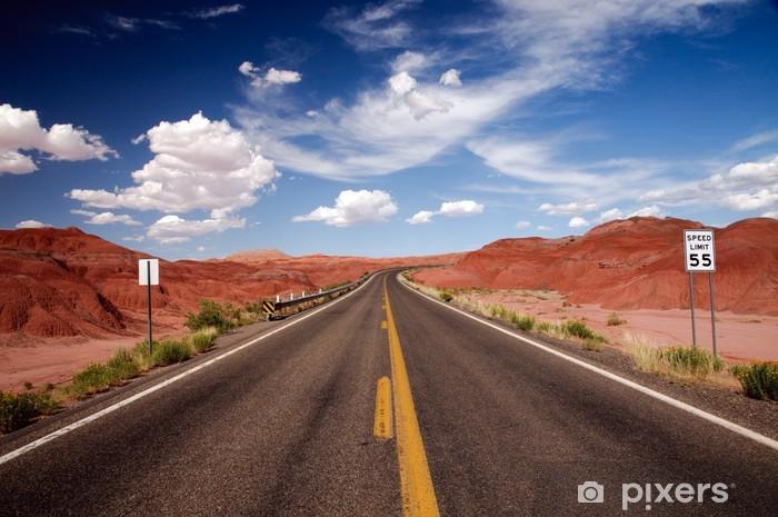 Papier peint vinyle USA sur la route, USA © 2009 GecoPhotography - Thèmes