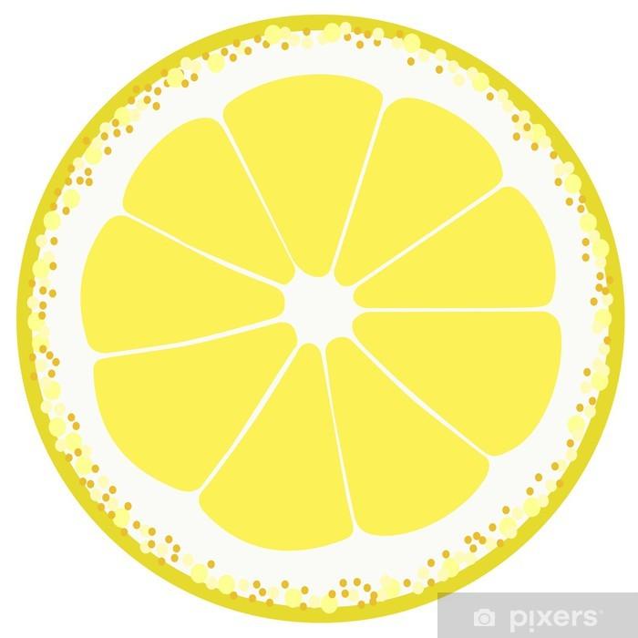 Plakát Plátek citronu - Ovoce