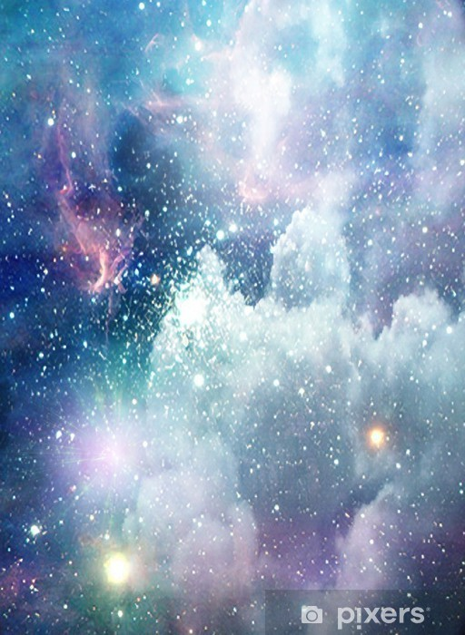 Fototapet av vinyl Deep Space Scene - Themes